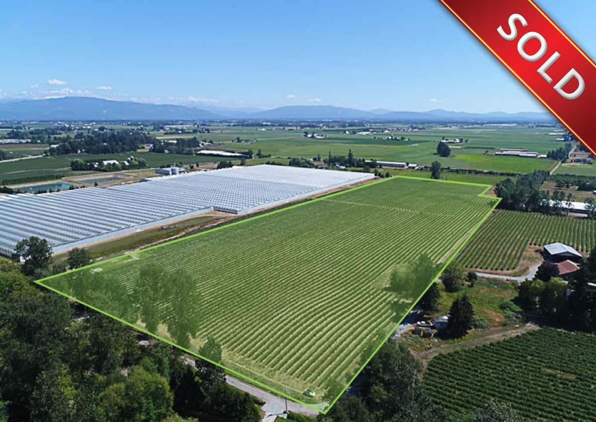 27.28 acres Blueberry farm conveniently located in South Langley. Ideal location to build your dream home, as the property is close to 260th & 4th Avenue. Currently planted in 9.5 acres (approx.) of Draper and 17.5 acres (approx.) of Duke variety blueberries producing 200,000 lbs (approx.) in 2016. The field is professionally maintained, has a new drilled well and is highly productive. The property is in RU-2 zoning which allows for two homes on the property. Just minutes away from Abbotsford and the USA-Canada Border Crossing with easy access to Highway #17 (264 Street). Stunning mountain views!