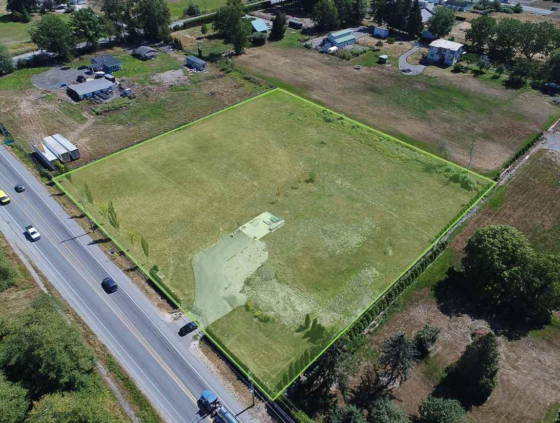 2.5 acres land only conveniently located in South Langley. The property is flat, perfectly square with great frontage and is in an ideal location to build your dream estate home. Fertile soil suitable to grow for various crops. It has a brand new drilled well and is zoned RU-1, which allows for a mobile home and accessory buildings. Just minutes away from the USA-Canada Border Crossing with easy access to Highway #15(176 Street). Stunning mountain views!