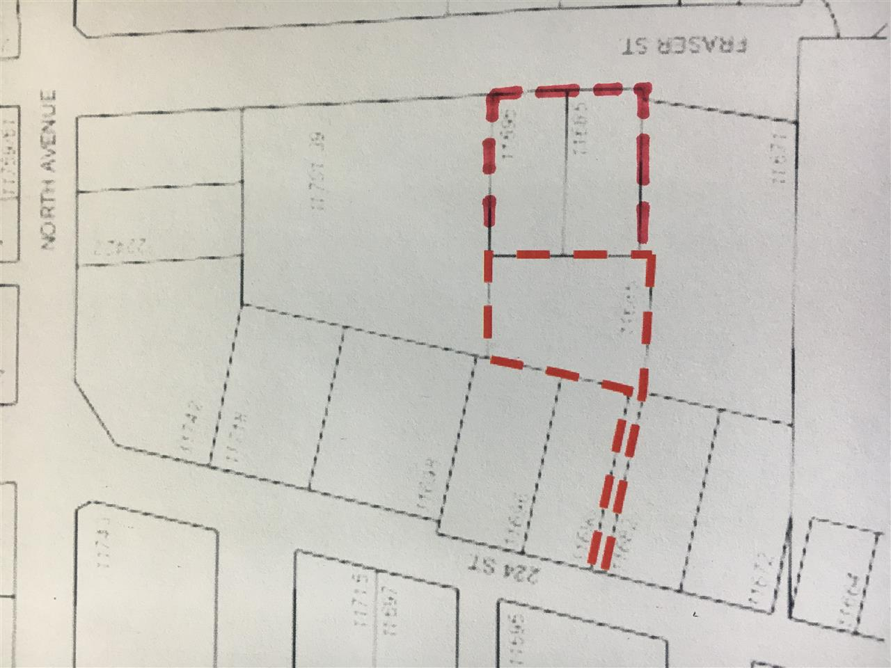 Rezoning and Subdivision potential on this 2/3 Acre site in Downtown Maple Ridge comprised of 3 separate titles (2 properties with small rental homes, 3rd property is vacant).  Current designation in O.C.P. is GOMF (Ground-Oriented Multi Family) but the city may support rezoning to higher density.  Walking distance to Shopping, Parks, Recreation Centre, and Port Haney West Coast Express Station.  Great package providing some rental income while you take it through the rezoning process.  Strata projects in this area are selling out during the construction phase, call Listing Realtor for more info.