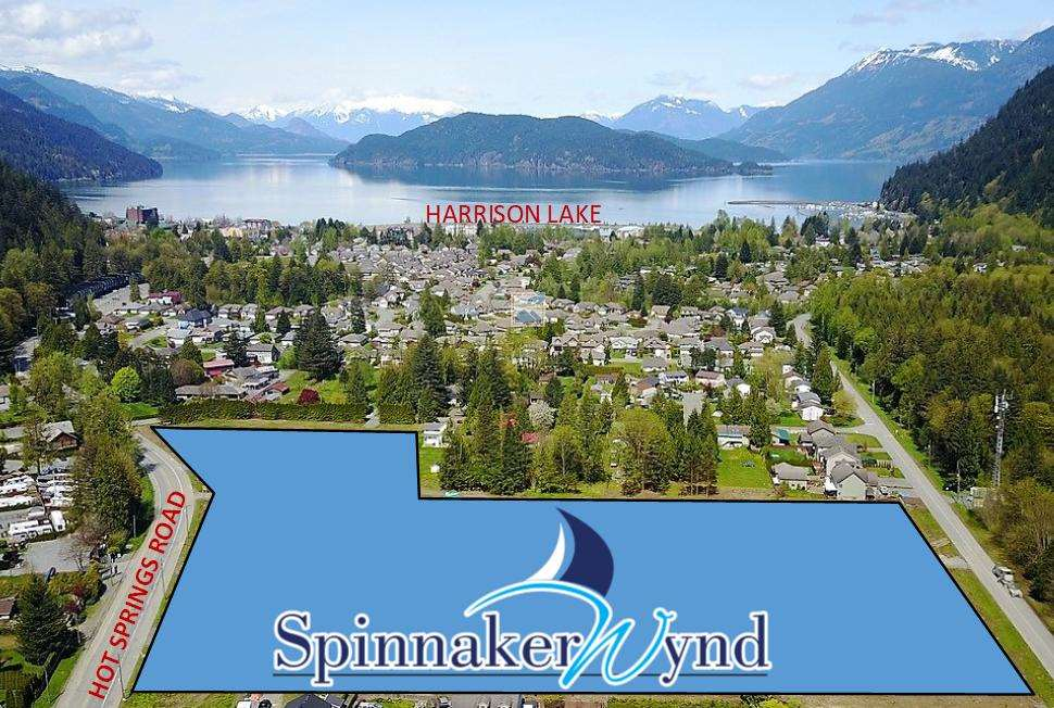 SPINNAKER WYND, Harrison Hot Springs new development! First phase consists of 35 single family lots. Fully serviced, great location, walking distance to the lake. Once in a lifetime opportunity to own in a new development close to Harrison Lake. Comprehensive development will include homes, attached homes and townhomes in future phases. Information package available, don't delay.