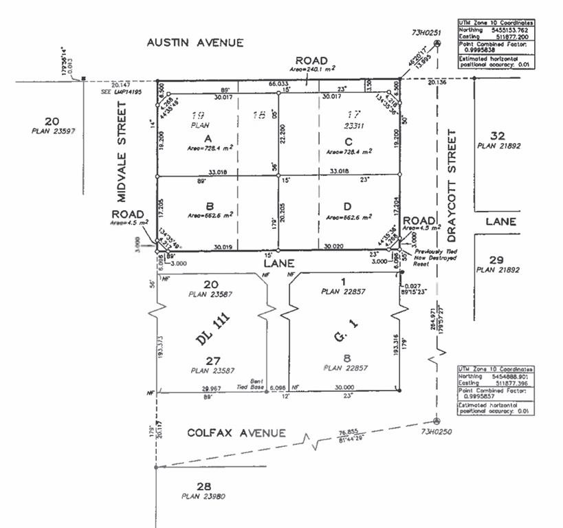 These centrally located Coquitlam building lots. Fully serviced & awaiting your plans....