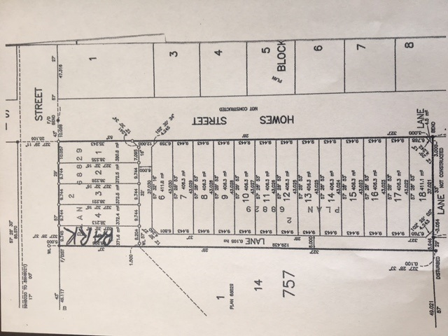 BUILDING LOTS AVAILABLE!!! Central location with lane access on Howes St facing private backyards. Services are being completed. Hurry on this rare opportunity to build your dream home. Will not last. Steps to schools, shopping, transportation and dyke. Only a few minutes to downtown Vancouver, Richmond, New Westminster and Burnaby.