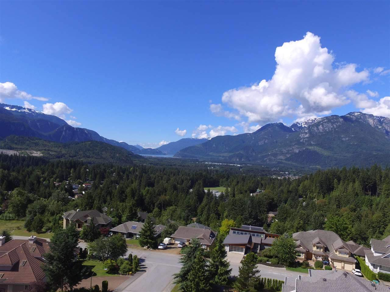 Large rare lot in Garibaldi Highlands. Build your dream home on this 9300ft plus lot with panoramic views of the Coastal Mountains and beautiful Howe Sound. Settled in a quiet cul de sac the options are limitless on prestigious Glacier Drive located in an established area. Truly a great opportunity in Squamish, BC. Call today.