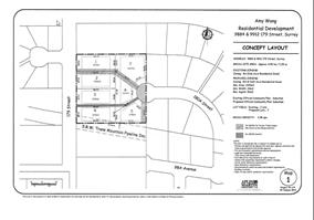 Abbey Ridge in Fraser Heights, 7 lot subdivision . Servicing will be completed by end of October 2017. 14,122 Square Foot Lot. Excellent neighbourhood with existing executive style homes in area. Build a 3 level home, ( 2 storey plus basement) or have our superior quality custom builder build to suit your needs. 4 lots to choose from.