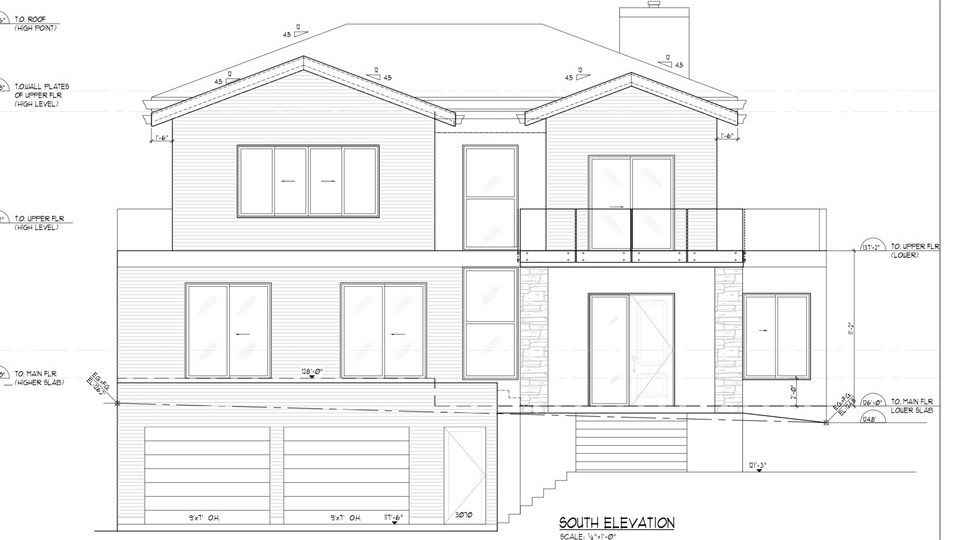 Builder/Developer's Dream Lot. Semi-waterfront Property, South Facing Building Lot & facing Cates Park. Price comes with Plans. Building Permit needs to be re-applied. Deposit paid to city. New  Home will be approx 3650 sq ft on 2 levels with garage. Demolition Done, Asbestos removed,  Please see attachments for more info.
