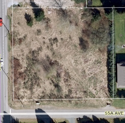 Seller said open to offers! High, Dry, Flat & usable 1.11 acres. Beautiful residential building site for your dream home. Located at the entrance of a quiet cul-de-sac on the corner of 55A Ave and 248 Street in Langley's Otter District. City Water out front on the street. No creeks or building restrictions. Easy to build on this sandy loam. Zoned SR-1. CALL NOW.