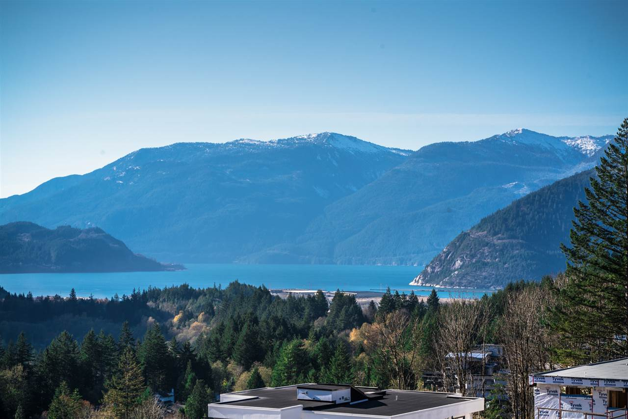 Bare land with Ocean & Mountain view at Crumpit Woods in Squamish. 8,482 square feet, located very high of Sub-Division, south-facing exposure. 10 minutes driving to Quest University, building plan has done, geotechnical report has done.