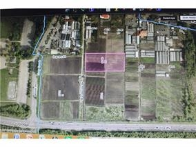 Location! Location! Location ! Can you imagine owning this 1.947 acres farm land located in CITY OF BURNABY within minutes to everywhere in GREATER VANCOUVER AREA ! This fertile land are great for organics vegetables, Aquaponics farming ,GREEN HOUSES for vertical farming etc. Owner have done extensive research and consulting with city of Burnaby for variety of uses . ARCHITECTURE DESIGN and floor planning , information package are available upon request and owners are willing to help in construction, managing the project for potential buyer . Land is on ALR.