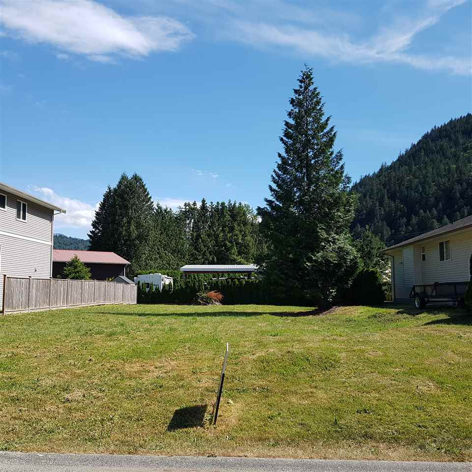 Build your dream home in Harrison Hot Springs today!  Chestnut is a lovely quiet street, walking distance to the beach and shops. This lot is a good size with nice homes around it. See it today!