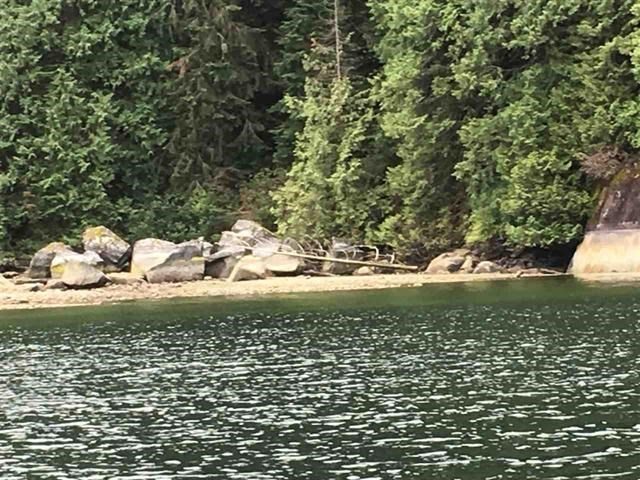 Pristine lot close to provincial camp across from Crocker Island a 30 minute boat trip up from Deep Cove Marina. This is water access only.