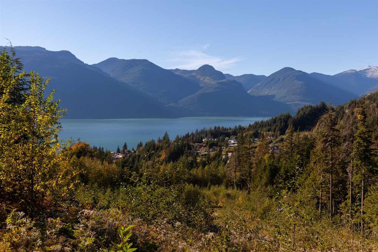 PRIVATE OCEAN VIEW ACREAGE. This spectacular building lot offers panoramic ocean, mountain and glacier views of Howe Sound.  Building plans for a fabulous custom home are available. Building Permit, Geotech & Structural B1 B2 in place. Great opportunity to buy ahead of the curve with community development planned at Britannia Beach, South Britannia, and Furry Creek. Short 25 min commute to West Vancouver and 1 hour to Whistler on the scenic Sea to Sky highway.  Lot has been cleared with services (water, sewer, hydro, telephone, cable) at lot line. No Foreign Buyer Tax at time of listing!