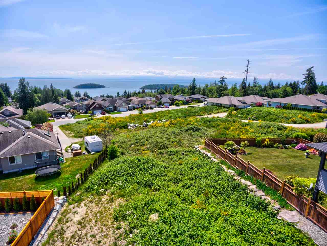 Spectacular ocean views overlooking the Georgia Strait & Trail Islands located in a popular West Sechelt neighbourhood of quality homes. This lot allows for a street level  entry home with beautiful ocean views and a walkout  basement to a sunny back yard. All underground services are in place nearby. Choose from any of the beach access?s within the area for some of the best swimming or hiking and biking trails. Shopping is nearby and just minutes from downtown Sechelt.