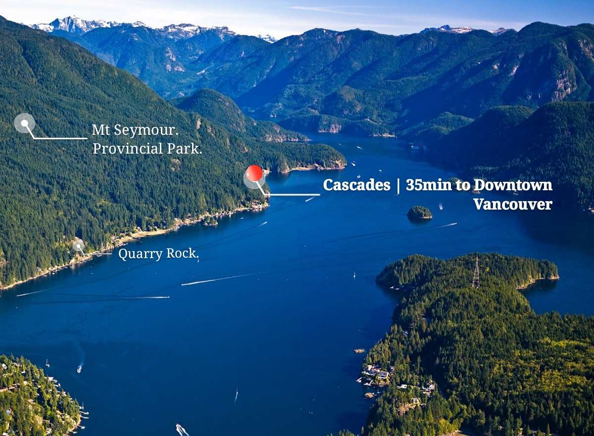 Opportunity Awaits! 10 min drive through a forest lined private road you?ll find this 33,664 Square Foot, 3/4 Acre piece of land in Indian Arm. Natural tranquility that is British Columbia?s North Shore rainforest with Mount Seymour at your back and the waters of the Burrard Inlet less than 60 meters. Outdoor adventures abound with world-class mountain biking trails, rainforest hiking trails, Kayak, watersports, Skiing nearby. The remote location provides for a true escape from city life while urban conveniences are nearby. ROAD ACCESS! A short 35 min drive to downtown Vancouver, 18 min to Deep cove where you?ll find unique boutiques and quaint Bistros. Less than a 15 minute drive to the shopping and amenities at Parkgate Village where you?ll find a Gas station, banks, farmers market, Safeway, Shoppers drug mart, restaurants, liquor store Parkgate medical centre (Dental, chiropractor, optometry, health clinic, lifelabs, animal & bird hospital) and much more. Act fast, call your agent before it's gone!
