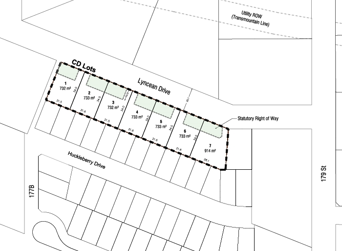4 remaining RF lots approximately 8,000 sq ft in popular Abbey Ridge subdivision by Canadian Horizons. These lots are the best lots in the subdivision with mountain views to the the north and adjacent to the future Park. Servicing will be completed in July 2018 so you could be building you dream home this Summer. Builders will be required to follow a statutory building scheme/design guideline.