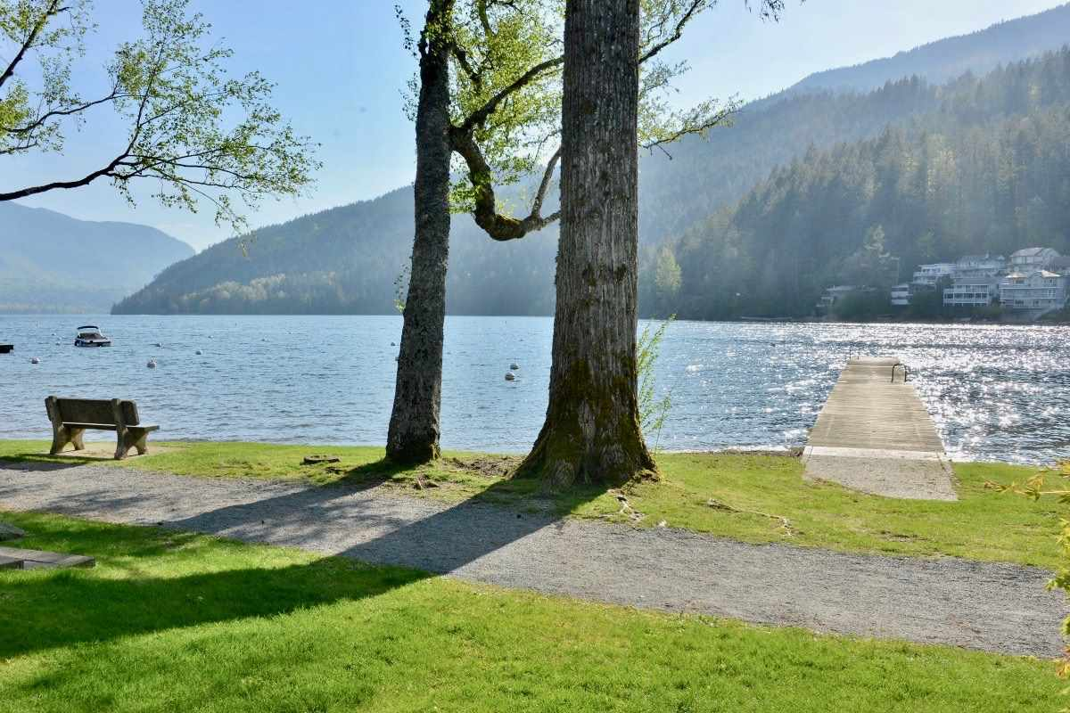 """""""SPECTACULAR"""" Cultus Lake Lot with permanent view corridor to the lake. Green space front and rear, backing onto treed parkland. This property is fully serviced with all underground facilities available at the lot line. Strategically placed in an area of top-of the-line New Executive Homes. This lot offers DIRECT access to the lake. Build your dream home and live your dreams at beautiful Cultus Lake. Act Fast. This is the last premier lot available. Call to discuss your offer!"""