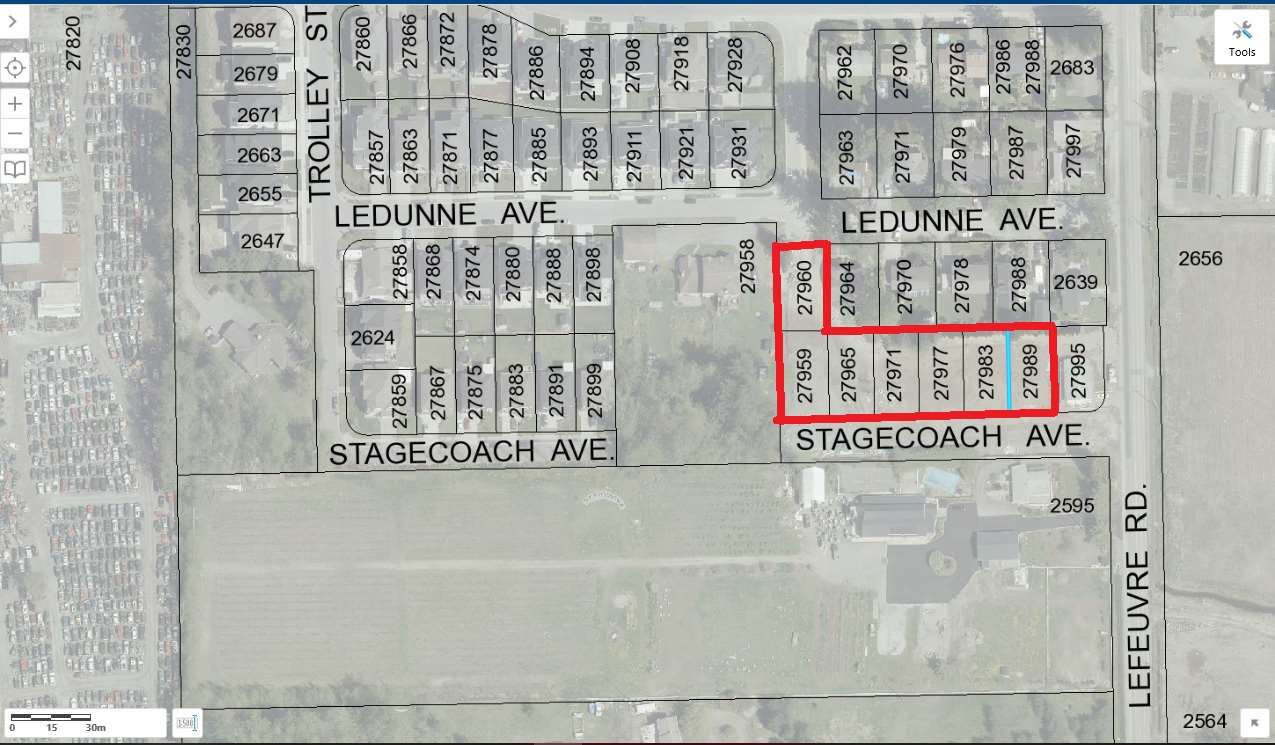 *Ready to Build Lot* Design and Build your Dream Home, in the highly sought after Aberdeen area of West Abbotsford, bordering on Aldergrove. Bring your builder to start ASAP a 3 Storey home with a legal suite (can be re-zone to RS3) and walk out basement. Walking distance to amenities, new recreation centre being constructed in Aldergrove. Quick possession!! Priced to sell.