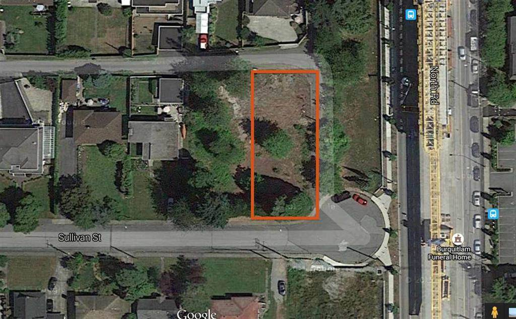 LARGE (9125 SF) CORNER LOT IN DESIRABLE SULLIVAN HEIGHTS BURNABY; THIS CLEAN LOT ON CUL-DE-SAC ROAD WITH WALKING DISTANCE TO SKYTRAIN, LOUGHEED MALL, SCHOOLS, COQUITLAM COLLEGE, REC. CENTRE AND EASY ACCESS TO HWY & BUS TO SFU. BUILD YOUR DREAM HOME (R2 ZONING), HOLD A LOT VALUE FOR INVESTMENT OR BUY A BRAND NEW HOME NEXT DOOR (9955 SULLIVAN ST AVAILABLE FOR SALE). CALL FOR DETAILS OR DRIVE BY FOR THIS EXCELLENT LOT.
