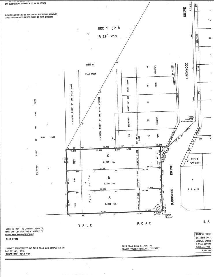 1/2 ac. lots located in Rosedale and part of the Woodland Heights subdivision. Zoned for your horse or chickens. Fully serviced and ready to build your dream home.