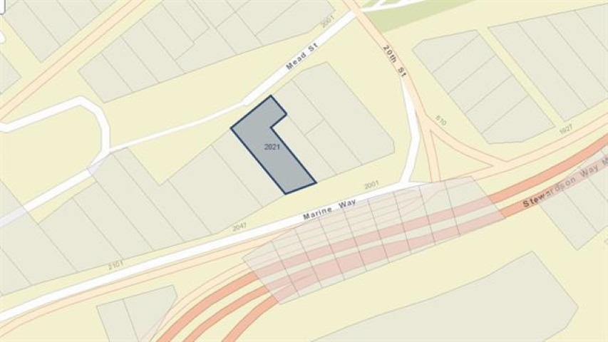 OCP has changed to comprehensive development. New Westminster's adopted a new OCP on October 2, 2017 as (CD) comprehensive development, This 12.396 Sq Ft parcel of land is Just steps away from 22nd St Skytrain station. It can be purchased with several adjoining properties for a major development opportunity.