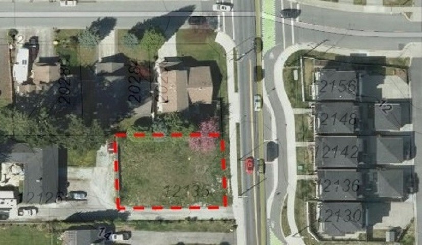 PRIME WEST END LAND FOR SALE.  Build your dream home here!  LARGE, FLAT, VACANT LOT at 7,523 square feet (71.7 foot Frontage x 105 foot Depth) with ALL SERVICES available for hookup at lot line & all services MEET CURRENT REQUIREMENTS so NO UPGRADES NEEDED. Zoned residential (RS-1B) ALLOWING A LEGAL OR GARDEN SUITE.  SIDE LANE ACCESS is already there so you have 2 ROAD FRONTAGES.  No waterways, not in a flood plain or the Fraser River Escarpment area, and no demo headaches or cost (saving you $$$) - just CLEAN, FLAT, VACANT land ready to build on in a great neighbourhood with many newer homes.  Very CENTRAL LOCATION, close to all levels of schools, shopping, recreation, Golden Ears and Pitt River Bridges. Just minutes to Langley, and easy access to Surrey and the Tri-Cities. Call Today!