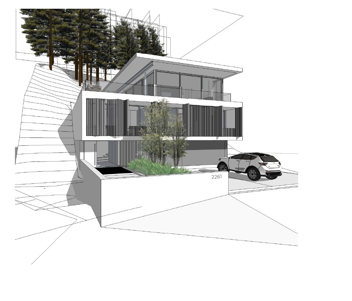 2261 Mossy Rock Place: an 8500 sq. ft. building lot perched at the top of Crumpit Woods in beautiful Squamish BC. The lot faces South West and features quintessential coveted views of Howe Sound and The Chief! Design and build your dream home or check out the custom plans that could come with the lot.