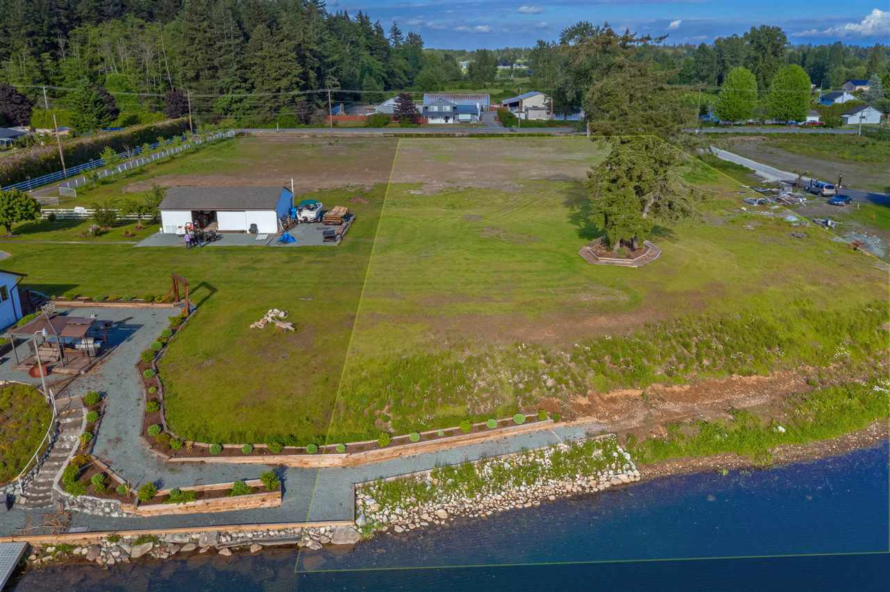 Build your Dream Home on this gorgeous Waterfront property, just 40 minutes outside of downtown Vancouver located on the beautiful ultra exclusive Rees Lake in the Brookswood community of Langley. The lot has been serviced and is surrounded by mansions. 2 acres of flat, usable land and room for all your toys. This property has it all including fishing in your backyard. Thanks to the yearly stock of Rainbow Trout in the Lake. This is the property where you literally can have it all... Don't miss your chance to live in paradise. Future Potential for Subdividing!