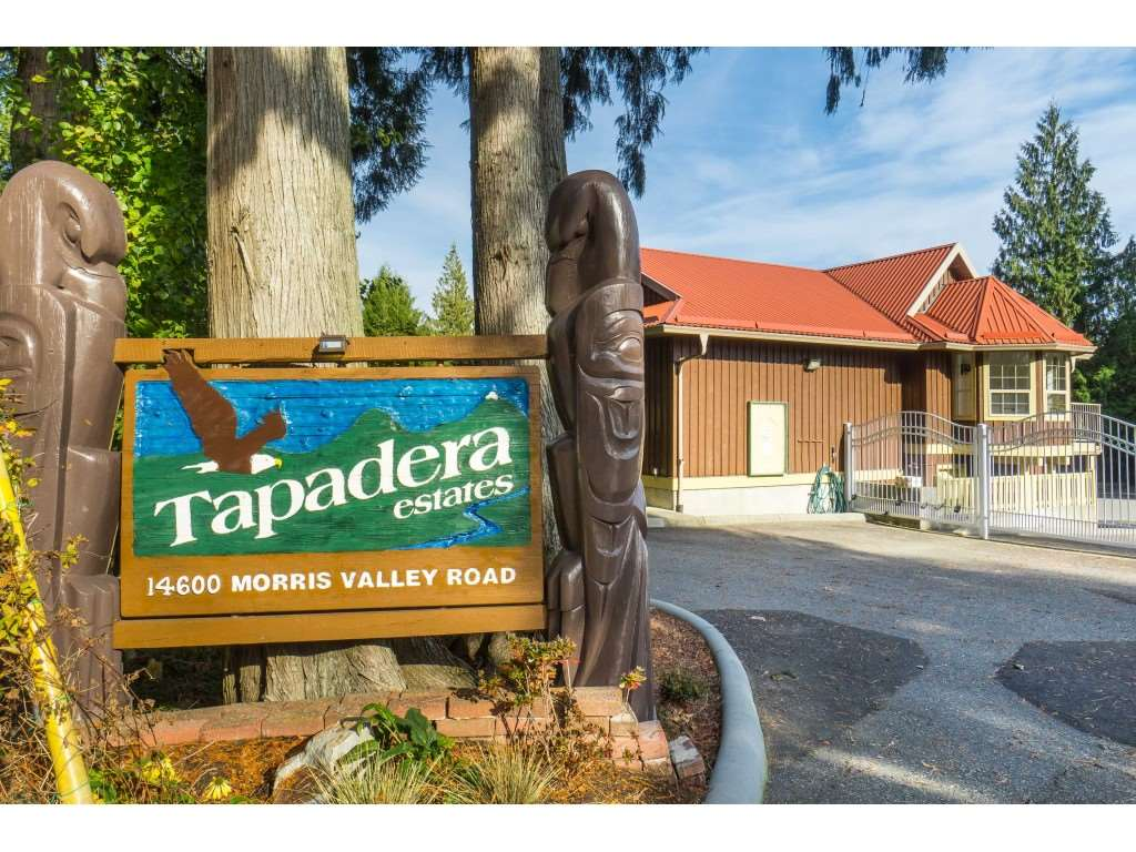 "GET OUT of the city to Tapadera estates and bring your R.V.to this very affordable, gated and secure waterfront community on the Harrison River only 1 1/2 hours from Vancouver.This is your perfect opportunity to own this very private,Level,low maintanance, Fully serviced Freehold lot with a fully engineered, high quality Ramada to protect you and all your toys from the elements. This lot will accommodate any R.V's from Class ""A"" motor homes to a tent trailer and everything in between with room left for a boat etc. Water, sewer,electricity and cable all on your lot . Enjoy the beautiful amenities this secure,gated community has to offer with indoor pool,clubhouse,boat launch etc. This is perfect, AFFORDABLE  for a family escape or buy it with a group of friends. Trailer not included."