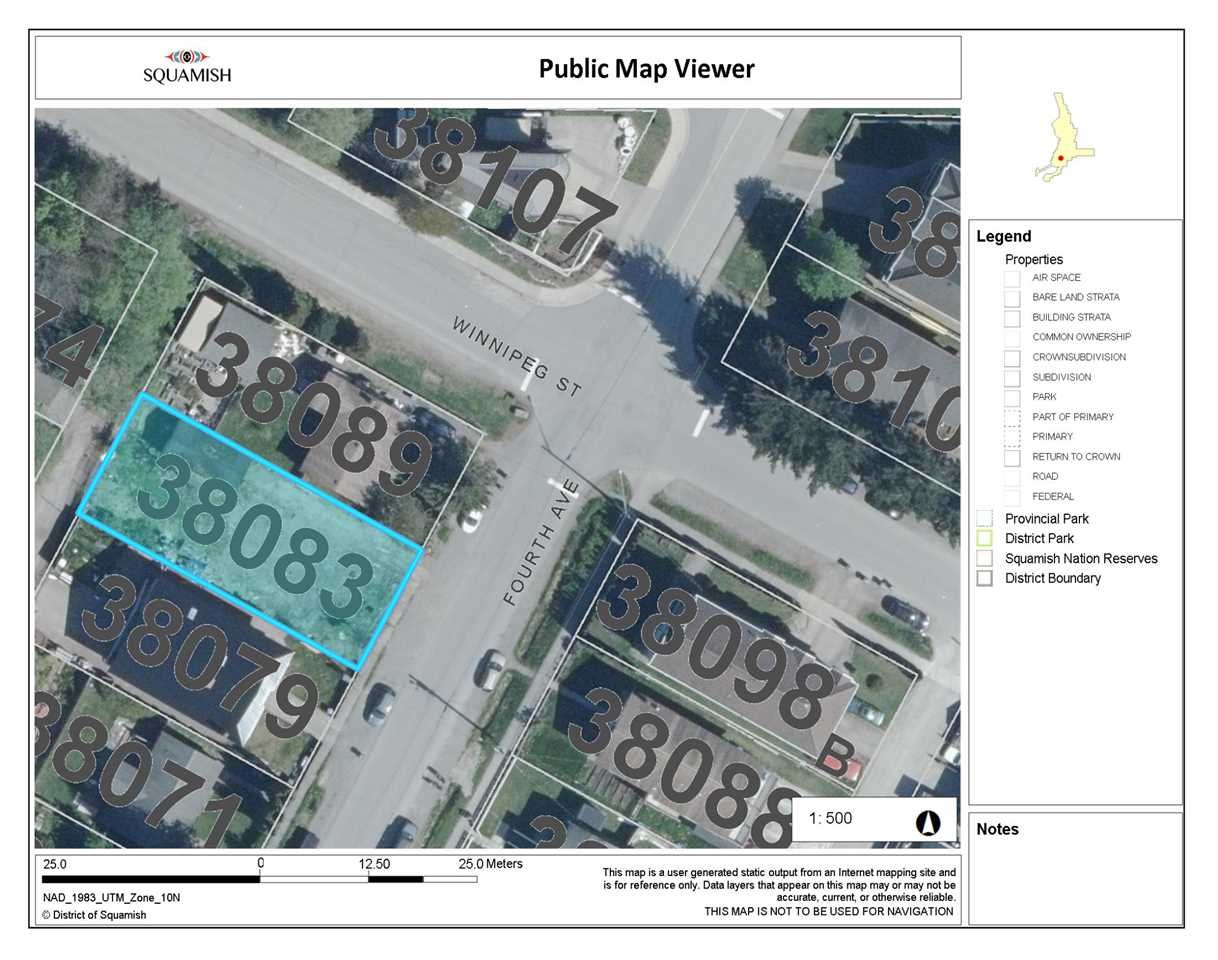 Great Real Estate opportunity in Downtown Squamish! This lot is located near the comer of Winnipeg  and Fourth Ave, just steps away from shopping centers, restaurants, cafes, and more. Downtown  Squamish has been seeing an exciting amount of growth and this could be a great future development  site!