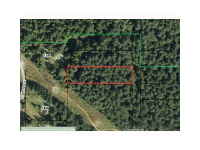 Rare.. Single Family one full acre lot. Requires North Vancouver District Development Permit(s) & Services. A huge opportunity for an Estate Lot.