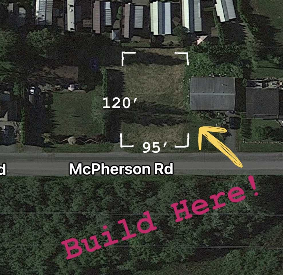 MASSIVE BUILDING LOT. This flat 95 x 120 lot is less than 3 km to the beach and is situated on a quiet destination street in the Resort Town of Harrison Hot Springs. Currently Zoned R1 (Single Family) which allows a home and Accessory Building, 40% site coverage is permitted without variance, max footprint on this lot would be 4560 sq.ft.  There may also be a possibility to rezone to R2 (Duplex) or R3 (Small Lot with 41' minimum frontage required). Great place to build your Weekend Escape Home or Permanent Residence, with room for the massive detached SHOP for all your Toys and Hobbies. Harrison Hot Springs O.C.P. is being re-done in 2021, and now is the time to jump on this deal. Sewer/Water/Gas/Electricity/Cable all available. 90 minute drive to Vancouver. Act Now!