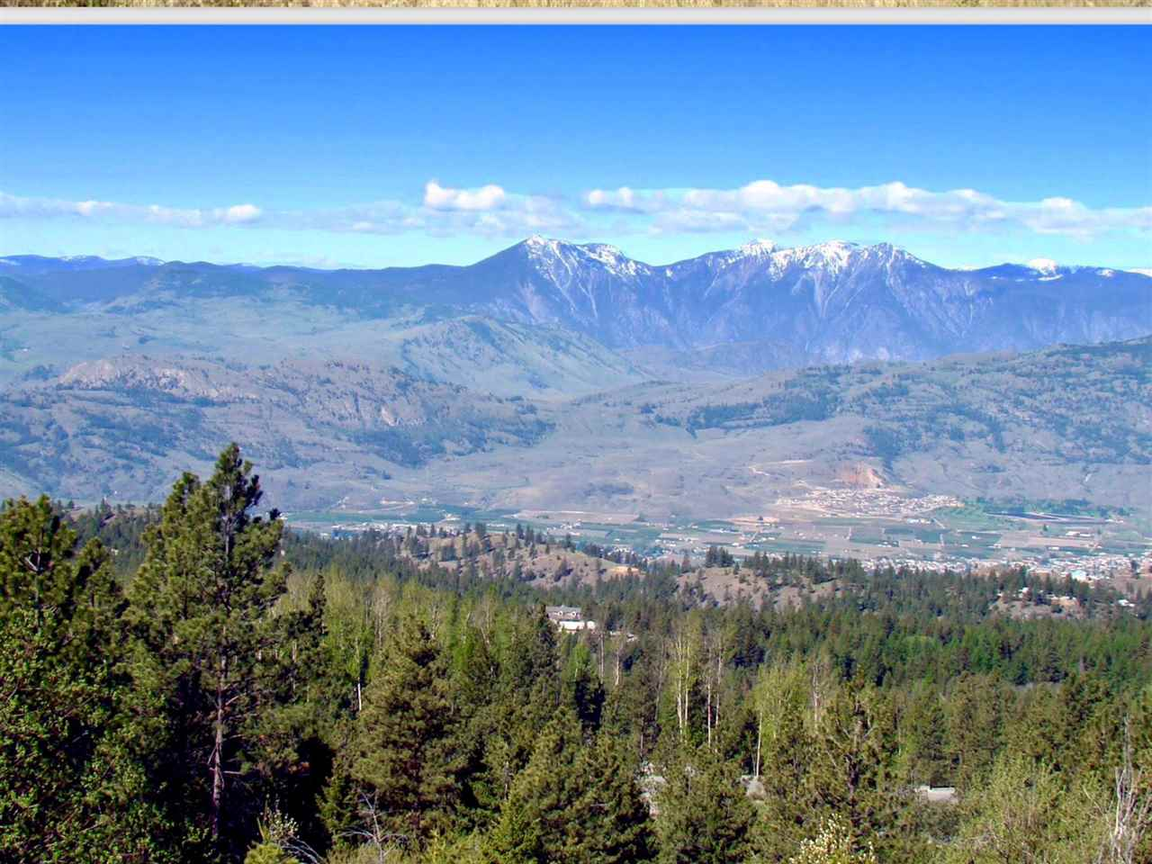 Beautiful mountain and lake views from this very private lot. Large usable building site with paved driveway. Power utility vault on the lot, hookup with Fortis under $1000. Drilled well with ample water flow of over 20 GPM. Excellent value for a lot of this caliber. Please request permission to walk this private property. Lot measurements taken from Land Title Office in Kamloops - Landcor documents MLS®188416