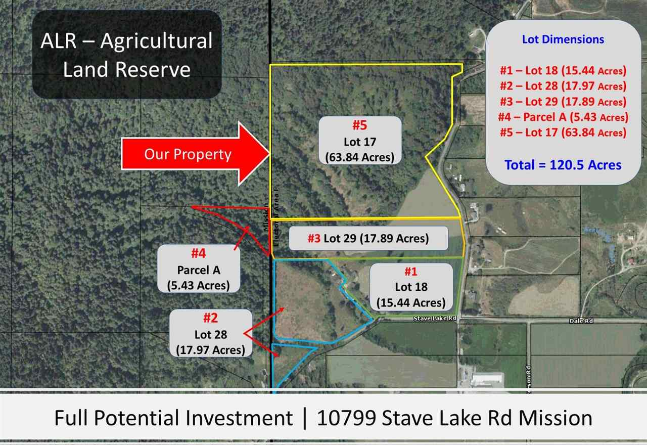 Investors; 120 acres;5 titles in Mission 62 acres; out of the ALR with development potential. 55 acres; 3 titles is in ALR; perfect Agricultural land for serious or Gentelman farmer. South facing & Baker View 5th title; remote treed 5 acres; yet to be developed. You may be able to buy each parcel separately, but we are currently looking for one buyer to buy all 5 titles, then we would probably sell you a separate parcel. Jack and Barbra Heptonstall, Hatzic Valley pioneers. It was their wish to help fund many charities like Scholarships and Bursaries. We are HONOURED for your Lasting Legacy. THANK YOU! This 100 year old farm has many barns, outbuildings an that are often rented for movie sets. Barbra's 100 yr old Rhododendrons now grace the property. SEE MOVIE!