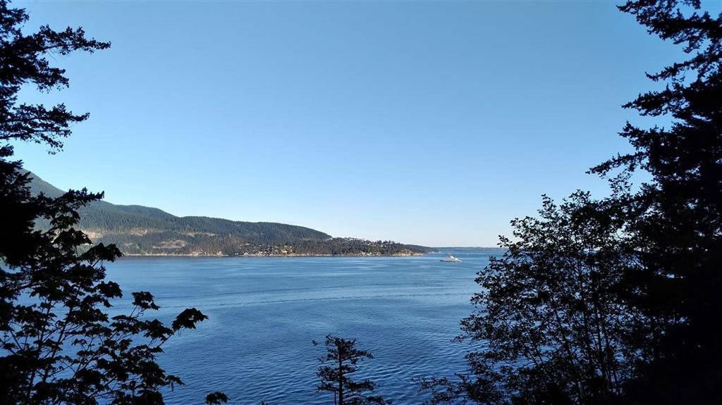 Ocean View Lot Great opportunity to build your dream home with gorgeous Howe Sound View. Septic system is in and building plans available