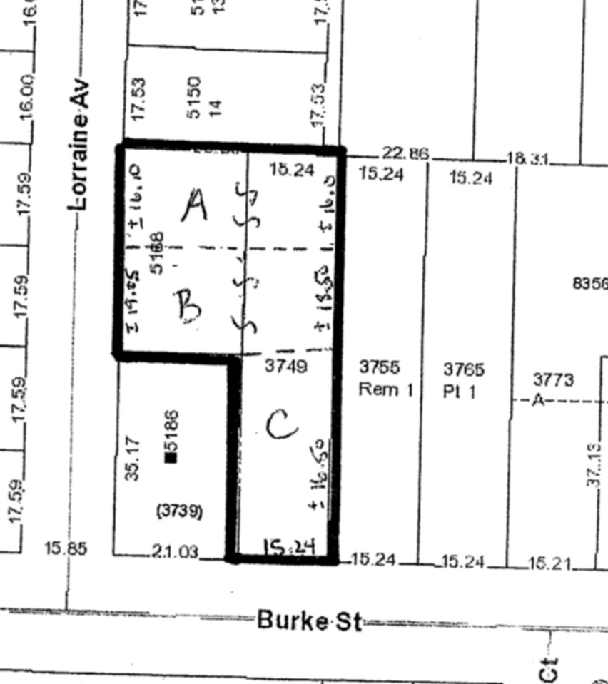 Sub-dividable property! Must be sold in conjunction with 3749 Burke Street. 3 Lot subdivision. Creation of one R5 duplex lot, two single family lots. Close to bus, skytrain, Metrotown, hospital and schools. Central location, quiet neighbourhood.