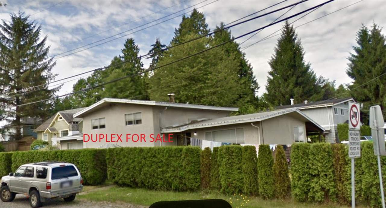 Large 83.3 x 110 ft Corner lot. Potential to sub-divide into 2 separate lots to be verified from city of Delta. Great Development opportunity! This 3 level split Duplex comes with 6 Bedrooms and 4 Bathrooms, 3 bed and 2 baths on each side. Each unit comes with it's own furnace, laundry room and hot water tank.
