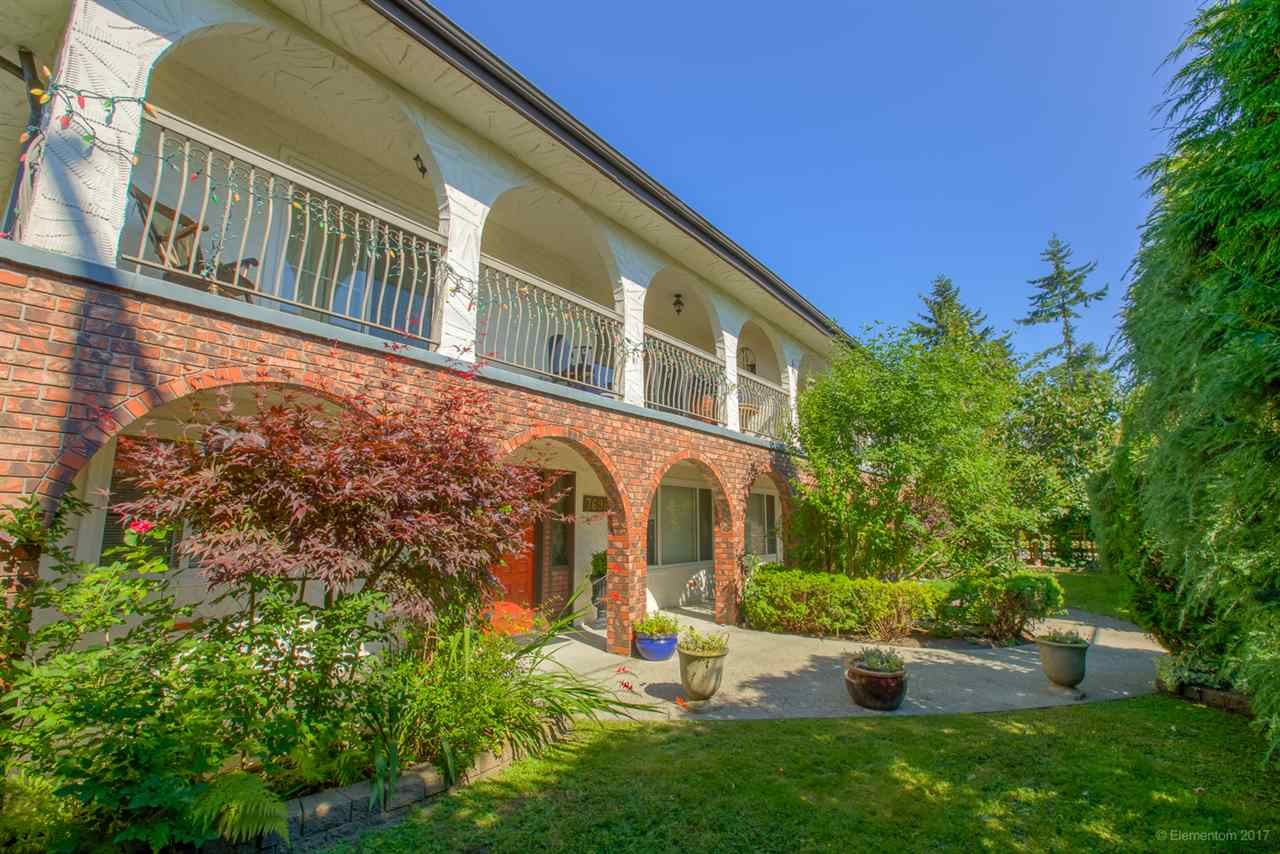 RARE OPPORTUNITY! Massive duplex on 10,560 sq ft corner lot in PRIME Burnaby location! Boasting over 7300 sq ft, this 2 storey property contains 4 suites with a total of 15 bedrooms & 7 bathrooms, units from 1770-1880 sq ft. The main floor features mirror image units, each with a spacious living room with access to front balcony, separate dining room, kitchen with lots of cupboards and counter space, eating area with slider out to large covered balcony, plus 4 good sized bedrooms. Lower floor with 2 units consisting of living / dining rooms, kitchen / eating areas + 5 bedrooms in total. Each unit with own laundry! Over $250,000 in upgrades in 2005 including new roof, windows, floors, sundeck coverings. Perfect investment property. Close to Armstrong Elem and Cariboo Hill Sec.