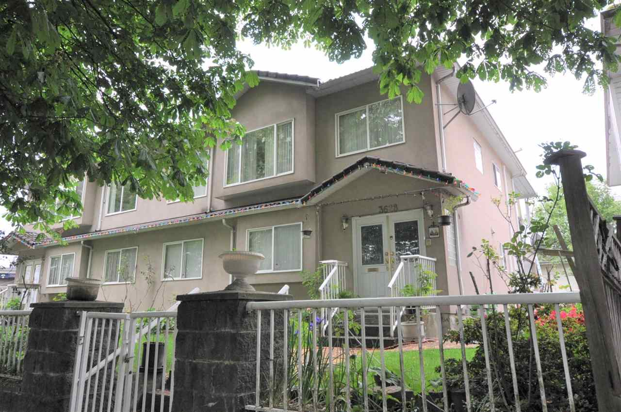 ALERT! DEVELOPERS & INVESTORS! on Glen Dr : 3626, 3628, 3698 This location is one of the best! Quick access to Vancouver Downtown & Burnaby. Direct bus to Downtown Vancouver. Existing house main floor has 3 bdrms, 2 baths, basement has 2 bdrm, 1 bath. School catchment: Charles Dickens Elementary & Sir Charles Tupper Secondary. Please drive by to see.
