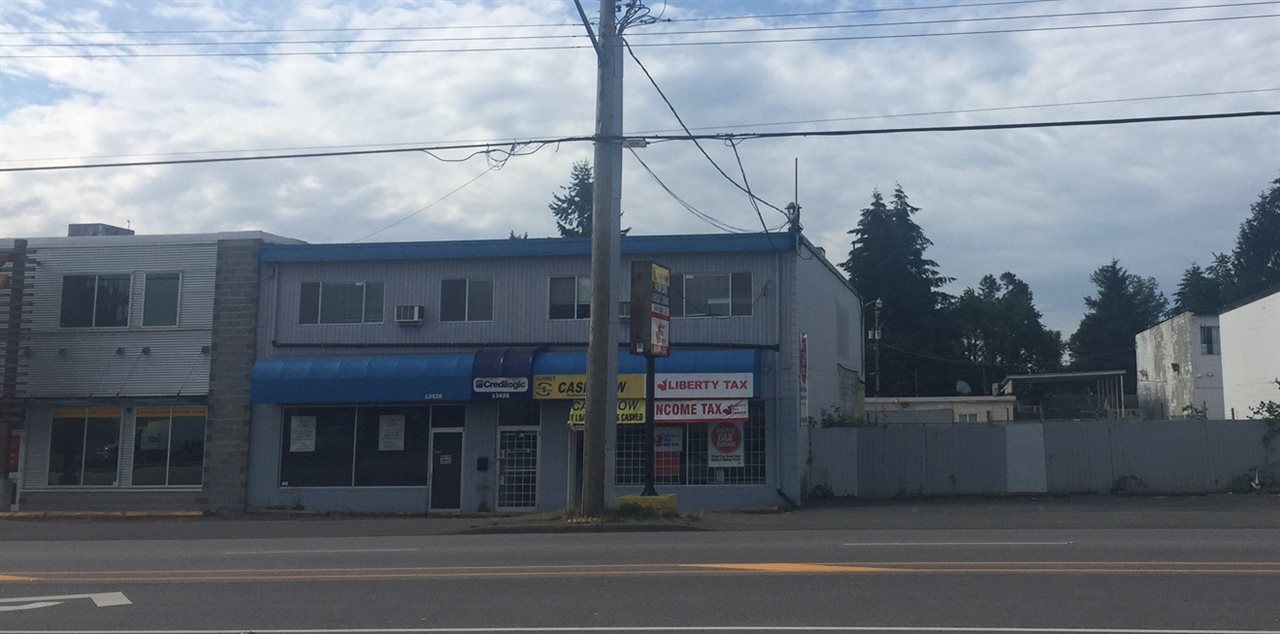 1,750 SF Commercial Retail Unit FOR LEASE with store front in West Newton area fronting 72 Ave. Loading door at rear with laneway access. Base rent at $13/SF/annum and additional rent at $6/SF/annum.