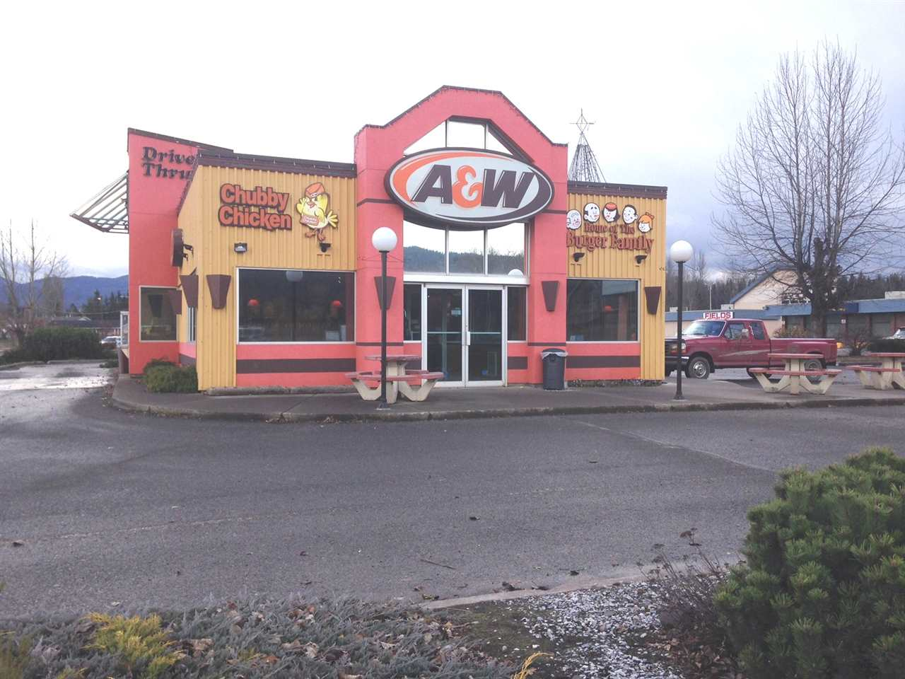 Well known A & W franchise Business for Sale in Houston BC. Over 20 years at same location with drive through. Biggest National blend in town with no competition. 2,400 SF, Full kitchen. Absentee owner but doing excellent. New  Buyer to re-image subject Business. Great investment!!