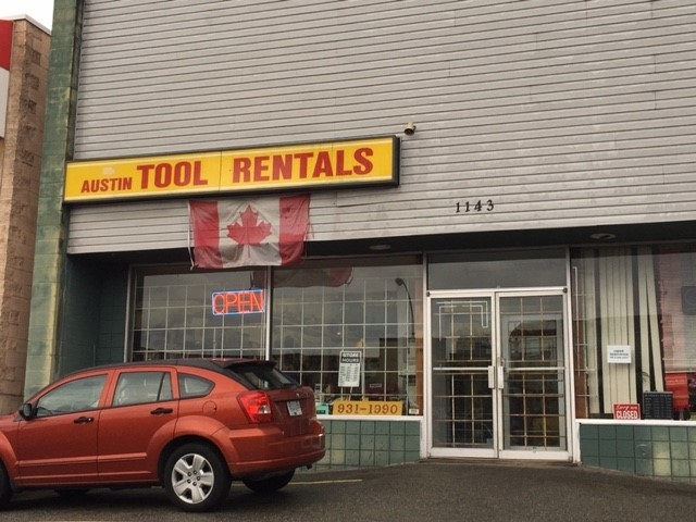 AUSTIN TOOLS RENTALS IN COQUITLAM. Rare opportunity to own a long established business (28 years) with valuable client base. This business shows pride of ownership. Large amount of assets from excavators to any size tools. Please call agent for additional information.