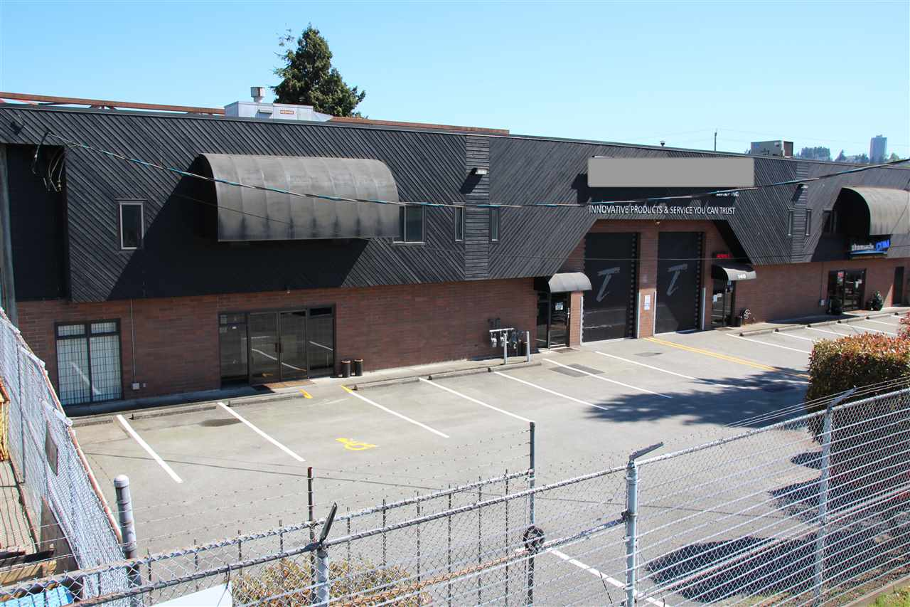 One of a kind 9,790 square foot warehouse & turnkey sound stage and special effects fil studio. 12' x 14' grade loading door. 22 ft high ceilings, clear span warehouse, good parking, fenced facility. Unit is fully soundproofed. Excellent access to 2nd Narrows Bridge, Lions Gate Studios and Highway #1. Available 30-60 days notice. Space suitable for film, TV, electronic games/motion capture and TV commercials.