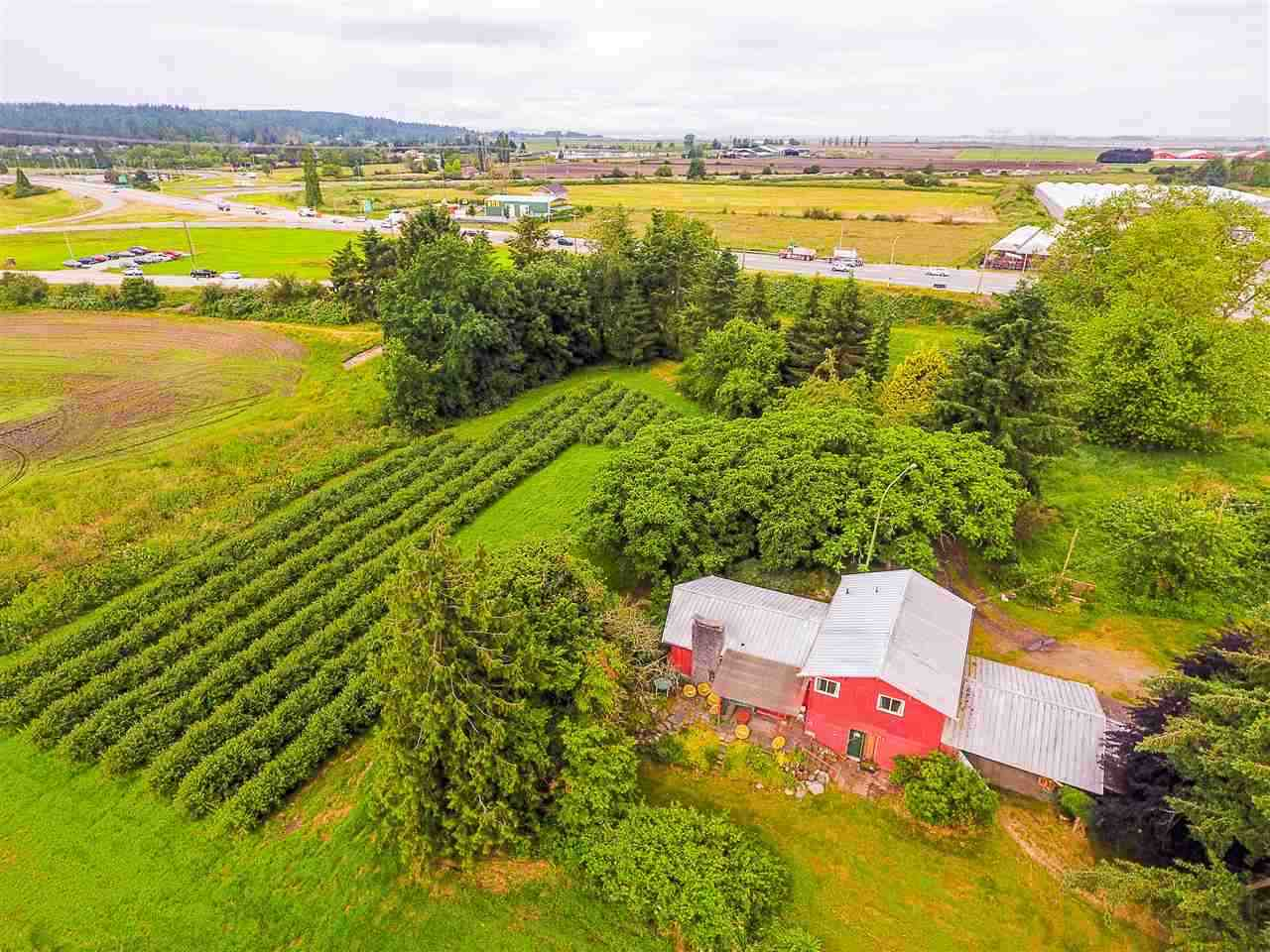 First time on a the market in 75 years! Incredibly rare and highly coveted 90 acre parcel in strategic location close to Hwy 99, US Border and just minutes to major South Surrey & White Rock developments. Incredible investment opportunity here! Potential for large scale agri-business. Current property contains an occupied farm house and barn. Do not disturb owners or enter premises without permission. By private appointment only. Contact listing agent for more details. 15% foreign purchaser tax not applicable.