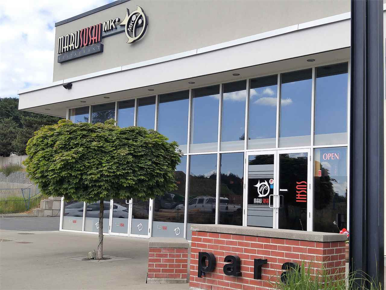 Nice Restaurant in Parallel Market Place Shopping Plaza in Whatcom Area. Liquor license, 70 seats, 2200 sq.ft, lease 6 years plus 10 years option left. All equipment are fairly new (3 years old). Can be converted to any other types of restaurant if desired.