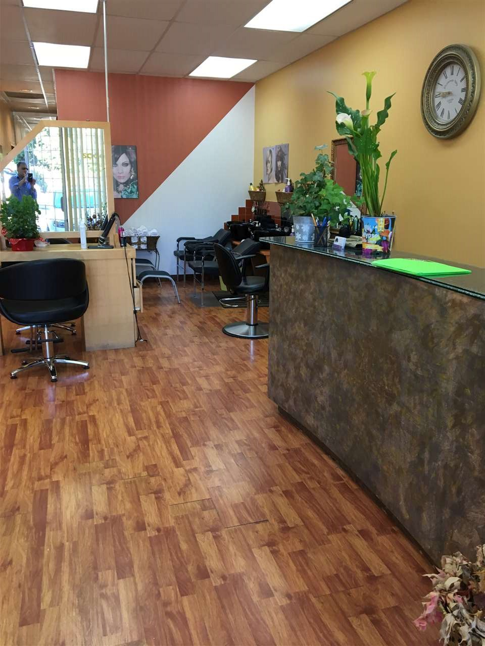Excellent Location, Image plaza. Well established beauty and Hair Salon and spa. Great income and low rent. 5 chair, could be 8-(6 sink, shampoo) , potential income by hair product.