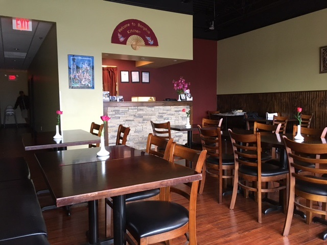 Thai Restaurant. Rent $5,418 (includes water, garbage, property tax, building operating cost, and GST). Lease September 2021 + 5 year option. Full commercial kitchen, walk-in cooler, liquor licence. Open 11:30-3pm, 5pm-9pm/5 days, 5-9:30pm(Saturdays), closed on Sundays. 3 washrooms/one foe employees, 40 seats, 1,330 square feet, busy Mall.