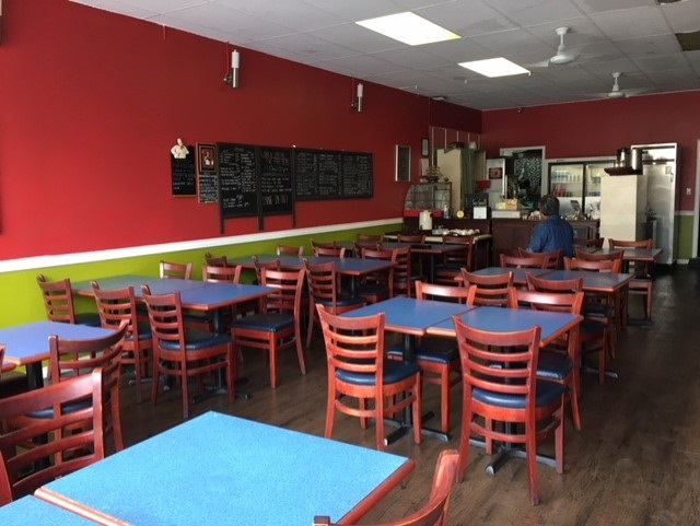 40-Seat Malaysian & Singaporean restaurant on 6th Street and 13th Ave. Fully vented commercial kitchen and affordable gross rent of $2,800/month only.
