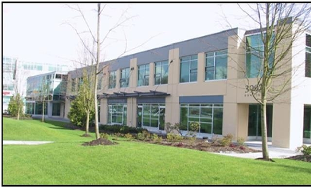 1,521 sq ft high quality corner office primary located 1/2 block from the Gilmore Skytrain station at the corner of Gilmore Avenue and Henning Drive in the prestigious Bridge Business Park. Bridge Business Park is conveniently located at intersection of Boundary Road, Lougheed Hwy and Gilmore Avenue, providing an unsurpassed level of accessibility to the Greater Vancouver area via the Trans Canada Hwy, the Lougheed Hwy and the Gilmore Skytrain station. This 2nd floor unit receives an abundance of natural light and features air-conditioning throughout, 5 private offices, open area reception, coffee bar & sink, printer and photocopier room, and 1 washroom. Unit also features 3 parking stalls. Please telephone listing agents for more details and to book a showing.