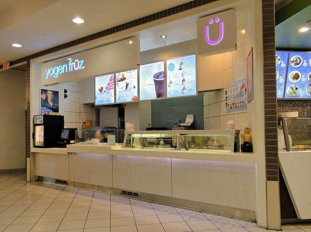 Famous Canadian chain of frozen yogurt and smoothie stores in Oakridge Mall! 250 SF located in food court. Gross rent $7,700 including water and GST.
