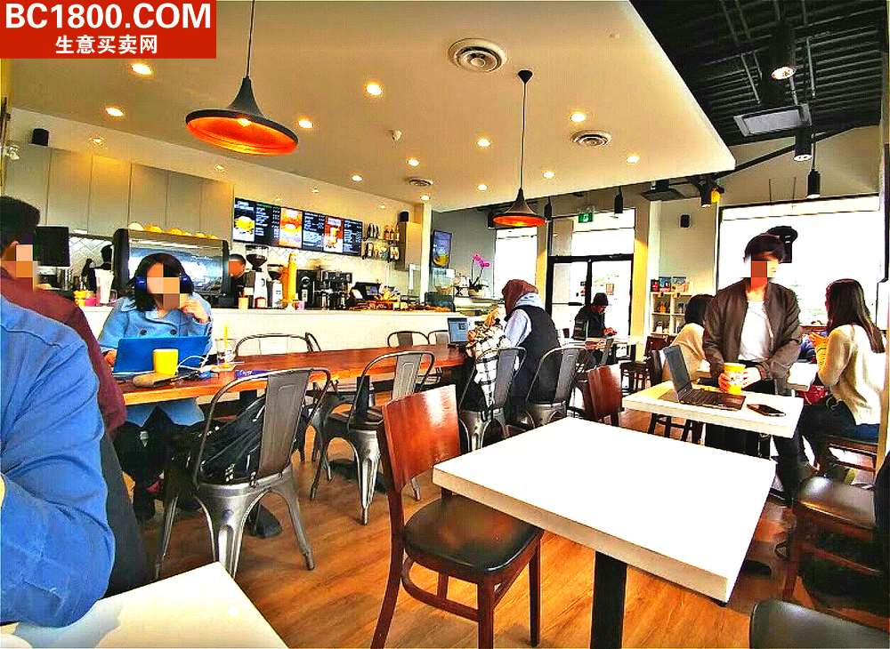 Franchised coffee shop located in West Richmond Seafair Shopping Centre. Newly built with high end decor & equipments including new cappuccino machine. Highly profitable & easy maintenance. Corner unit with direct exposure to No 1 Road. Mass residential population & school nearby. Current gross rent is $4,500, GST included. One month training will be provided in Vancouver. Please contact agent with private  viewing. Do not disturb staff. Showing by appointment only.