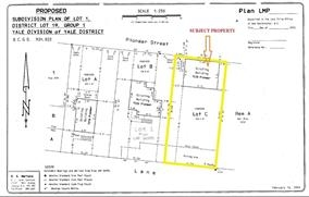 6,815 SF commercial lot for sale in prime downtown Agassiz, BC fronting Pioneer Ave. Main Street exposure with high foot traffic. Zoned CT2 (Town Centre Commercial). Property has 1,168 sq. ft. building and must be demolished & build new. Great location!